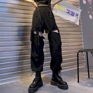 Dámské kalhoty se zipy Shannon