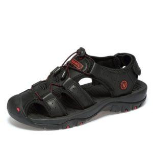 Pánské kožené letní sandále
