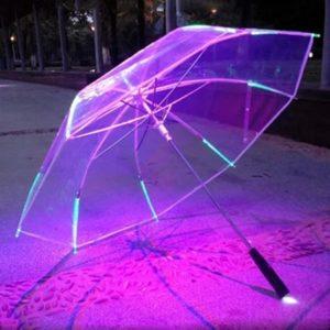 Luxusní LED deštník