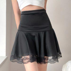 Dámská letní mini sukně s vysokým pasem Kali