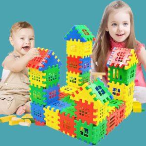 Dětská plastová edukativní stavebnice