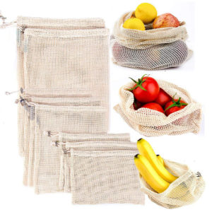Ekologické šáčky na ovoce a zeleninu
