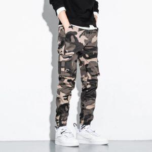 Pánské moderní maskáčové jogger kalhoty Eliot