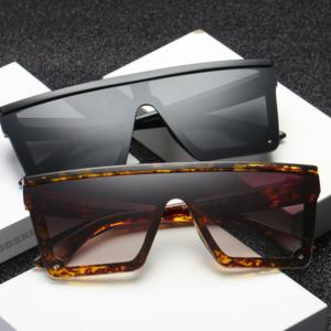 Velké sluneční luxusní hranaté brýle - více variant