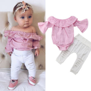 Dětský set oblečení pro dívky