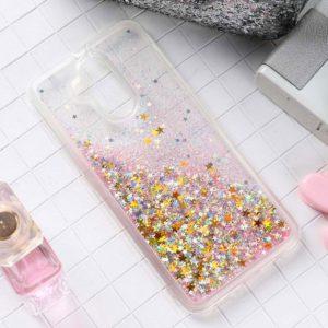Krásné kvalitní pouzdro s tekutými třpytkami pro mobilní telefon Huawei