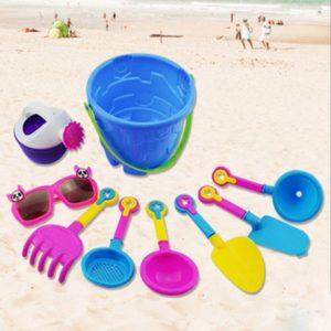 Sada dětských hraček na pískoviště